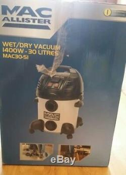 Mac Allister Corded Bagged Wet & Dry Vacuum Cleaner Mac30-sivc