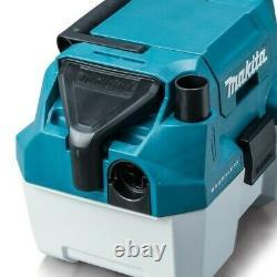 Makita DVC750LZ 18V Brushless Wet & Dry Vacuum Cleaner LXT L-Class + 1 x 5.0ah