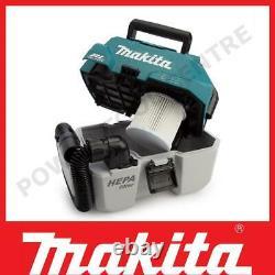 Makita DVC750LZ 18V Cordless L-Class Wet/Dry Vacuum Cleaner Brushless Body Only