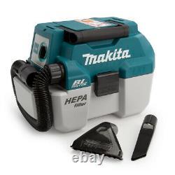 Makita DVC750LZ 18V LXT Brushless 7.5L L-Class Wet/Dry Vacuum Cleaner Bare Unit