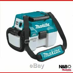 Makita DVC750LZ 18v LXT BL 7.5L L-Class Wet/Dry Vacuum Cleaner Body Only