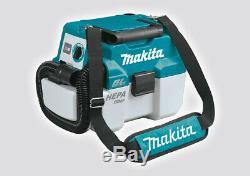 Makita DVC750 18v Cordless Wet & Dry Vacuum cleaner