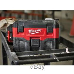 Milwaukee M18VC2-501 18v Wet/Dry Vacuum Cleaner, 5Ah Battery & Charger