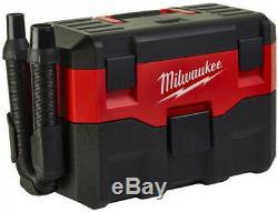Milwaukee M18 Cordless Wet & Dry Vacuum Cleaner Hoover Dust Extractor HEPAfilter
