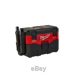 Milwaukee M18 VC-0 18V Cordless Wet and Dry Vacuum Vac Hoover Cleaner Bare Unit