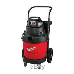 Milwaukee New 7.4-Amp 9 Gal. 2-Stage Heavy Duty Casters Wet/Dry Vacuum Cleaner