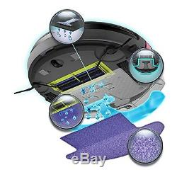 Moneual Robot Me 685 vacuum cleaners hybrid system wet/dry washer battery