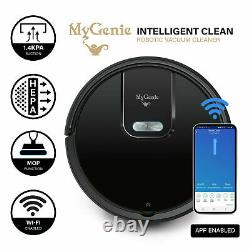 MyGenie WI-FI GMAX Robotic Vacuum Cleaner Mop App Control Dry & Wet Auto Robot