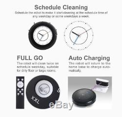 My Genie ZX1000 Robot Robotic Automatic Vacuum Cleaner Wet Dry Moping Remote