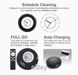 My Genie ZX1000 Robot Robotic Vacuum Cleaner Wet Dry Moping Remote Control