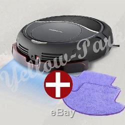 NEW MONEUAL Robot vacuum cleaner Wet/Dry Mop MR6803M Smart Sensor GRAY + 2Pad W