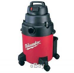 NEW Milwaukee 7.5-Gal Shop Vacuum 1-Stage Wet Dry Vac Cleaner Wheels Car Garage