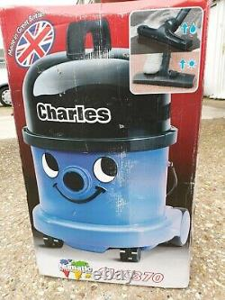 NEW! Numatic Charles Wet and Dry Vacuum Cleaner Blue CVC370