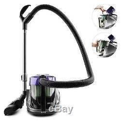 New Wet Dry Water Vacuum Cleaner Shop Home Carpet Hepa Filter 3 L Tank Brushing