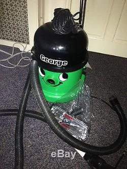 NUMATIC GEORGE GVE370 Wet/Dry Cylinder Vacuum Cleaner + Accessory Kit
