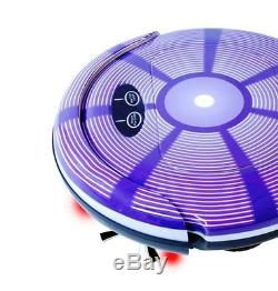 New 3-In-1 High Speed Sweeper/Vacuum/Mop Wet/Dry Option Robotic Vacuum Cleaner