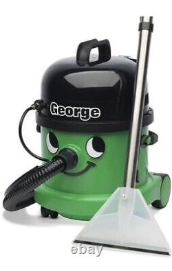 New George Wet & Dry Carpet Cleaner Boxed With All Accessories Fully Working