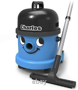 New Henry Charles Wet and Dry Vacuum Cleaner, 15 Litre, 1060 W, Blue-5101070003