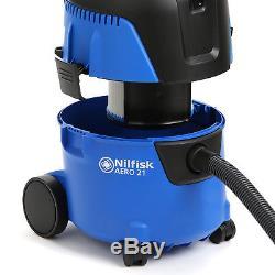 Nilfisk Aero 21 Canister Wet & Dry Vacuum Cleaner Vac 1250W 107406611