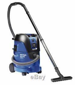 Nilfisk Aero 26-21 Wet & Dry Cylinder Lightweight Vacuum Cleaner 21 Piece 230v