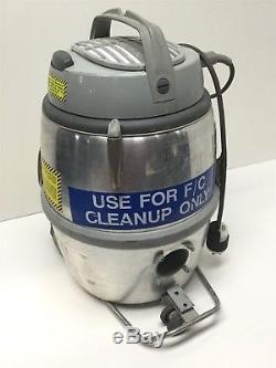 Nilfisk GS80 Industrial Wet & Dry Vacuum Cleaner, HEPA Filter, 1.48 HP, 80CFM