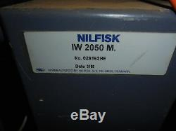 Nilfisk Iw2050 Industrial Wet Or Dry Vacuum Cleaner 110 Volts