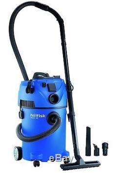 Nilfisk Multi II 30T Wet & Dry Cylinder Vacuum Cleaner 30Litre