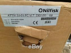 Nilfisk Wet Dry Vacuum Cleaner AC Attix 50-01 PC 302003631