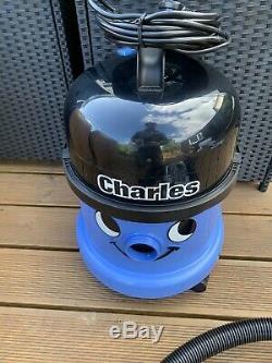 Numatic Charles CVC370-2 Vacuum Cleaner Wet & Dry 3 in 1 Blue EX DISPLAY