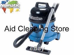 Numatic Charles CVC370-2 Wet & Dry 3 in1 Henry Carpet Floor Vacuum Cleaner Hoov