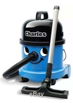 Numatic Charles CVC370 Vacuum Cleaner Hoover Wet & Dry 3 in 1 Blue A21A Kit UK