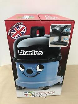 Numatic Charles Cvc-370 Wet & Dry Vacuum Cleaner Blue 240V