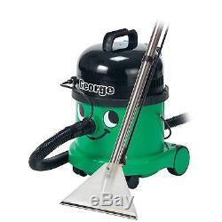 Numatic GVE370-2 George Wet & Dry Bagged 1200 Watts Vacuum Cleaner in Green New