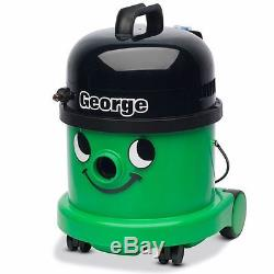 Numatic GVE370-2 Green George Bagged Cylinder 3 in 1 Vacuum Cleaner Wet & Dry