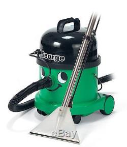 Numatic George Bagged Wet Dry 3in1 Cylinder Vacuum Cleaner 1200W A26A Kit, Green