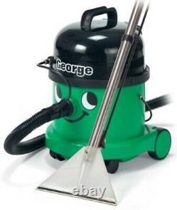 Numatic George GVE370 Vacuum Carpet Cleaner Wet/Dry A26A Kit & Airo Brush
