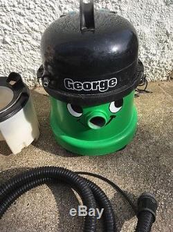 Numatic George Wet & Dry Shampoo Vacuum Cleaner Used