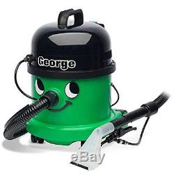 Numatic Vacuum Cleaner George Bagged Cylinder 3 in 1 Wet or Dry