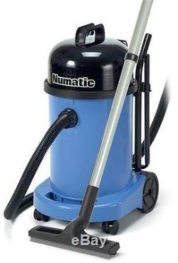 Numatic WV470-2 Blue Wet & Dry Industrial Vacuum Cleaner AA12 Kit 1 Week Old UK