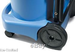 Numatic WV470-2 Blue Wet & Dry Industrial Vacuum Cleaner AA12 Kit 2016 UK Model
