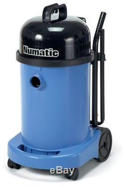 Numatic WV470 -2 Wet or Dry Commercial Vacuum Cleaner Blue 240v With Kit AA12