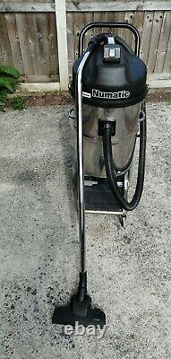 Numatic WVB 750-2 24V Stainless Steel Wet and Dry Vacuum Cleaner