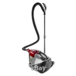 OneConcept Aquapura Water Vacuum Cleaner Wet / Dry Cleaning HEPA Filter Red