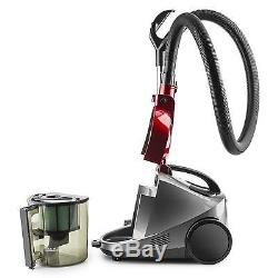 Powerful Vacuum Cleaner Wet & Dry Shop Vac Hepa Filter 3 L Water Tank Red
