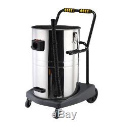 Panana Large Vacuum Cleaner Wet Dry Stainless Steel Industrial Commercial Power