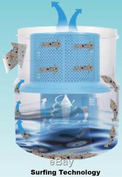 Pantra Multi-Cyclone Vacuum Cleaner Wet Dry Water Filter Hepa Bagless