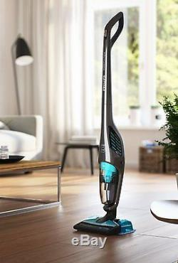 Philips FC6402/61 2-in-1 Wet-Dry Cordless Vacuum Cleaner & Mop, Pet & Anti-Aller