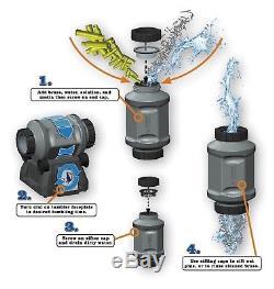 Platinum Series 7 Liter Rotary Tumbler Brass Cleaner, Clean Polish Wet Dry Media