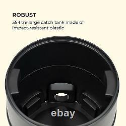 Pond Vacuum Cleaner Wet Dry Vac Floor Cleaner Home Pool Mud 1400 W 35L Tank Blue