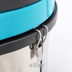 Powerful 3000W Wet Dry Vacuum Cleaner Industrial 80L Hoover Steel Tank Carwash